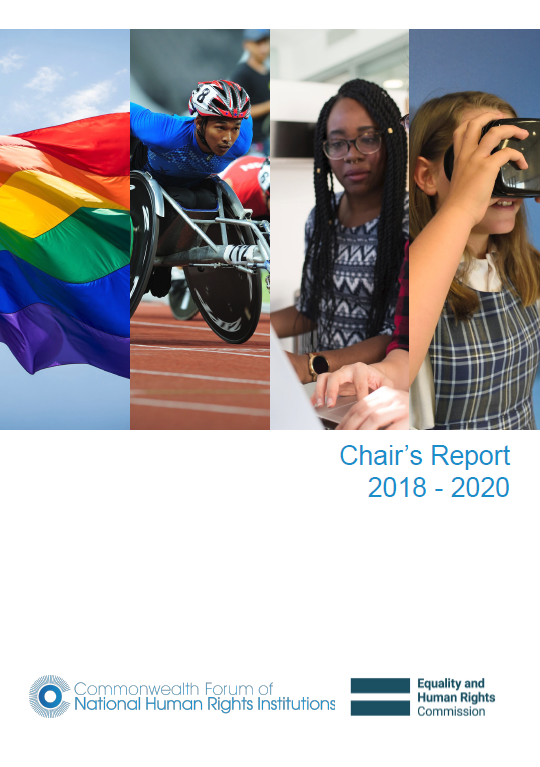 Cover of Chair report 18-20